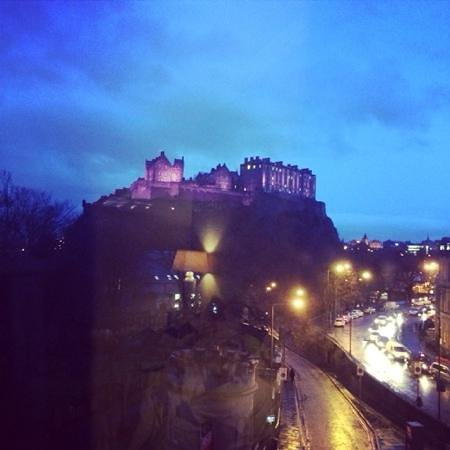 Waldorf Astoria Edinburgh - The Caledonian: room with a fabulous view