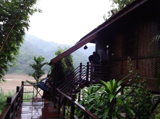 The Luang Say Lodge: Room by the river