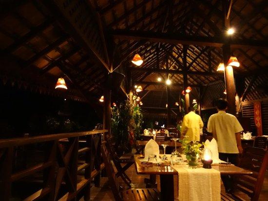 Luang Say Lodge : Restaurant