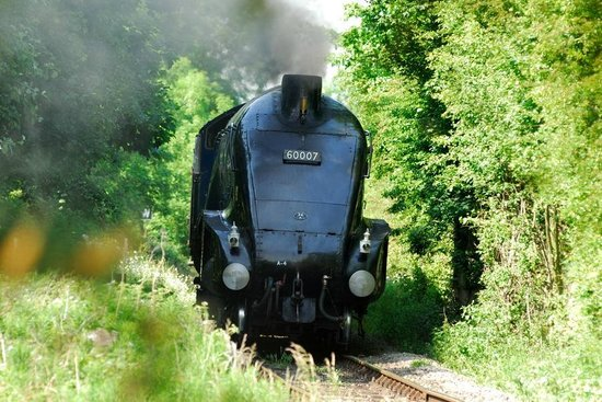 Didcot Railway Centre: Sir Nigel Gresley on the Main Demonstration Line