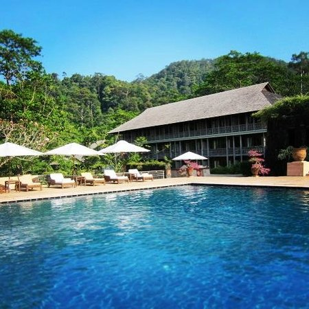 The Datai Langkawi: Poolside