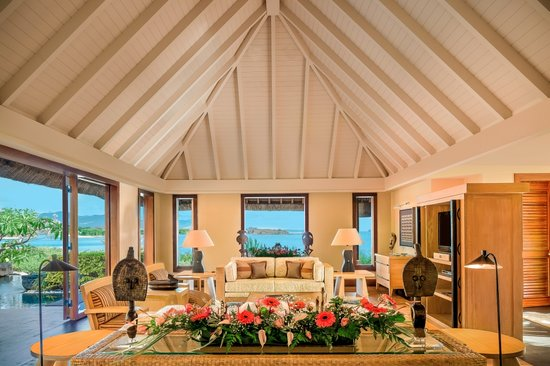 The Oberoi, Mauritius: Royal Villa with Private Pool - Living Room