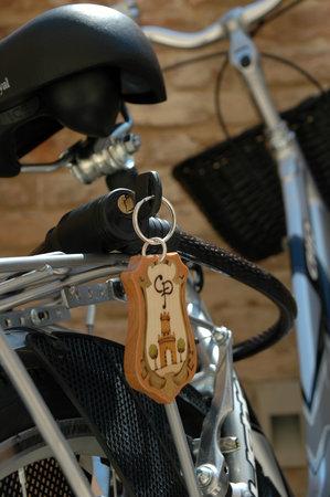 Casa Pazzi: Biciclette a disposizione degli ospiti
