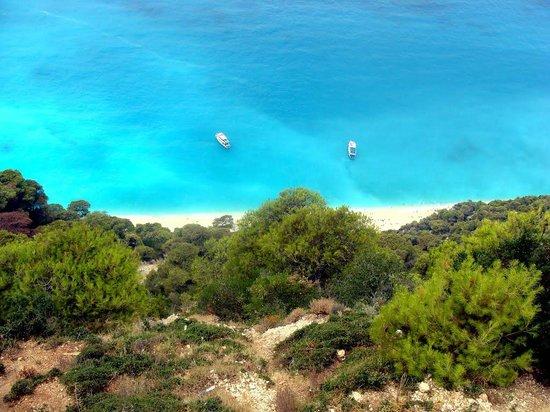 Plage d'Egremni : Eggremni beach