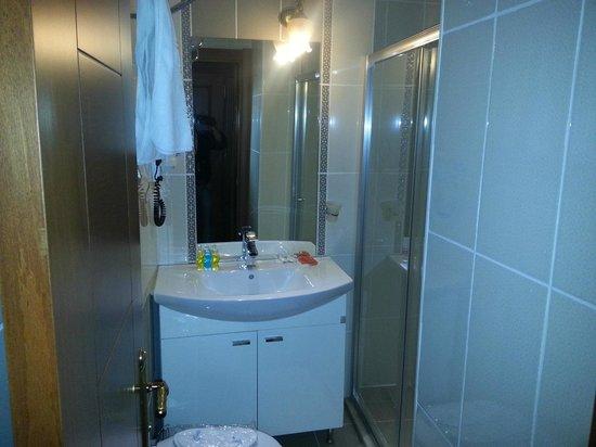 Blue Istanbul Hotel: bagno