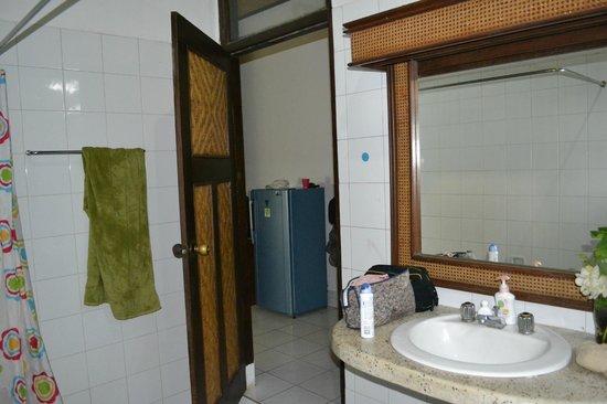 Sanur Beach Villas: View from bathroom back into room