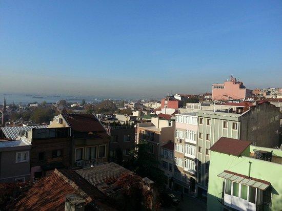 Blue Istanbul Hotel : panorama