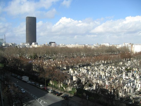 Villa Montparnasse : View from balcony, room 606