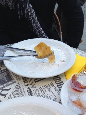 """The Magic Rubens Brasserie: Crêpe """"à la confiture"""" 6,95€"""