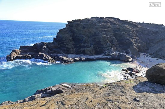 Halona Blowhole: The view that attracts us