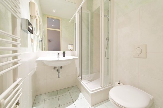 Hotel Allegra: Bad mit Dusche