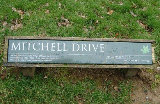 Westonbirt Arboretum : Excellent signage