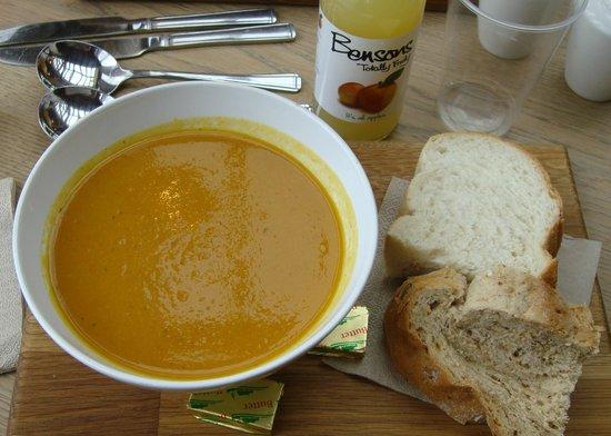 Westonbirt Arboretum : Roasted root vegetable soup
