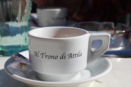 pausa caffè a Torcello