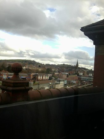 Travelodge Macclesfield Central: View from our room.