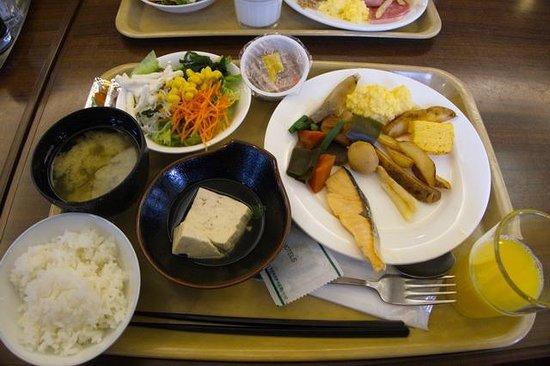 Hotel Route Inn Mitokenchomae : 朝ごはん(ビュッフェの抜粋です)