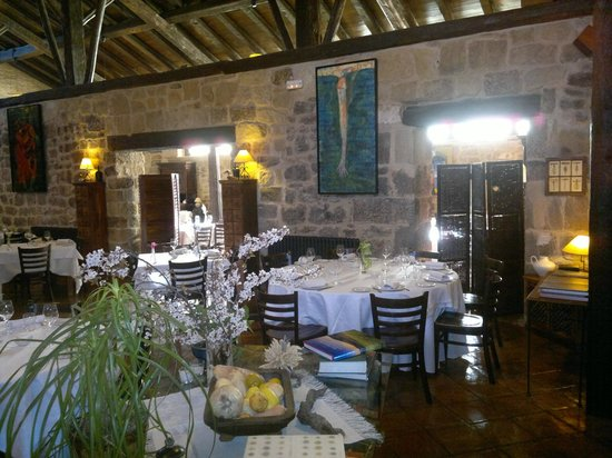 Vista comedor- Restaurante La Vieja Bodega (Casalarreina)