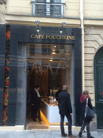 lemon cake picture of cafe pouchkine haussmann paris. Black Bedroom Furniture Sets. Home Design Ideas