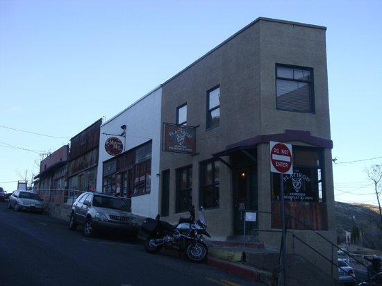 Jerome Chamber of Commerce: Jerome's Flat Iron Building
