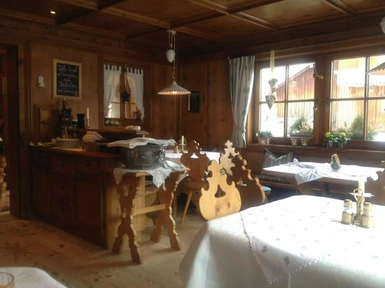 Genusshotel Das Sonnbichl: The beautiful breakfast and dinning rooms