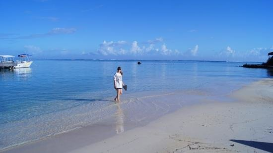 InterContinental Moorea Resort & Spa: morning stroll