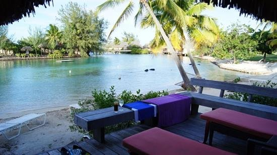 InterContinental Moorea Resort & Spa : room with a view