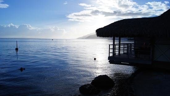 InterContinental Moorea Resort & Spa: morning calm