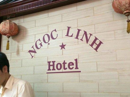 Ngoc Linh Hotel : reception area