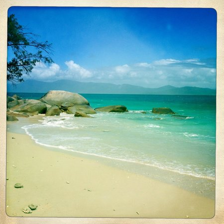 Fitzroy Island Resort: Gorgeous Nudey Beach