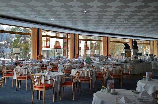 Grand Hotel Waldhaus Flims Alpine Grand Hotel & Spa: Restaurant