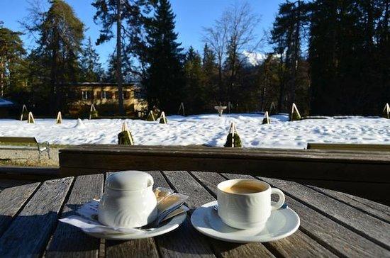 Grand Hotel Waldhaus: Coffee time
