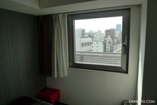 Hotel Mystays Asakusa-bashi: View out of the window