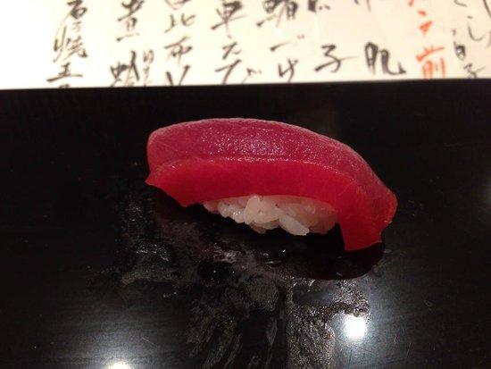 Sushi Tanabe: マグロのヅケ