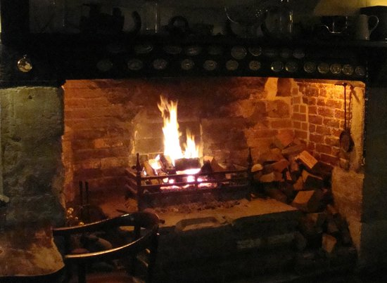 The Ivy Inn: The fire place