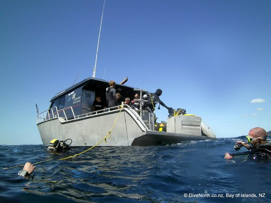 Dive North: The Inn Keeper - purpose built dive boat