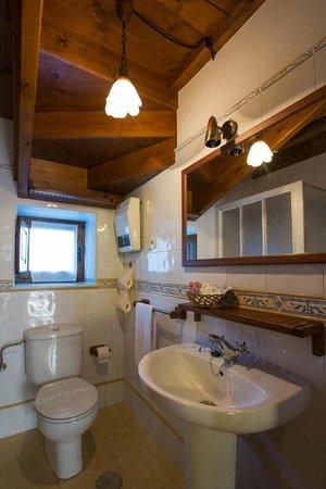 La Quintana De Romillo: Apartamento La Cuadrina: Detalle del baño