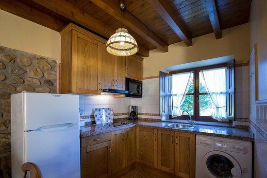 La Quintana De Romillo: Apartamento La Cuadrina: Cocina