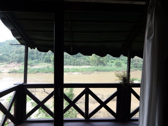 Nong Kiau River Side Rooms : View from the room