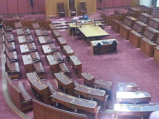Australian Parliament House: Senate