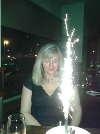 Rocpool Restaurant: Julie's Birthday