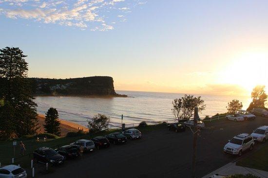 Sunrise at Avalon Beach