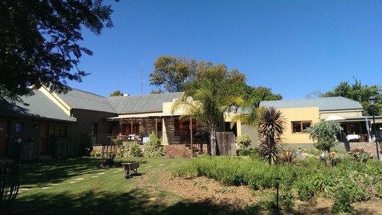 De Zeekoe Guest Farm: Guest farm dining area