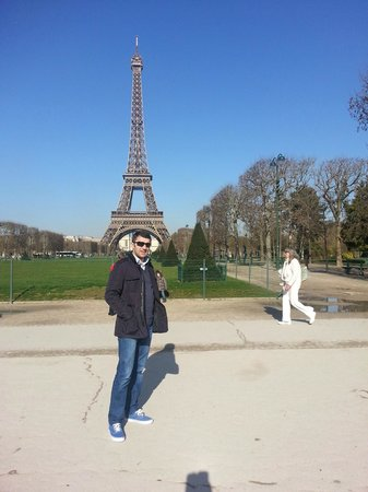 Prince Hotel : Tour Eiffel