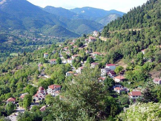 Evrytania Region, Greece: Mega Chorio - Evritania