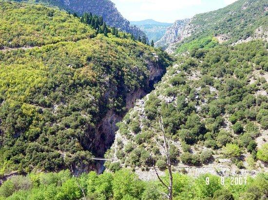 Evrytania Region, Greece: Πάτημα Παναγιάς