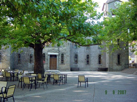 Evrytania Region, Greece: Krikello square - Evritania