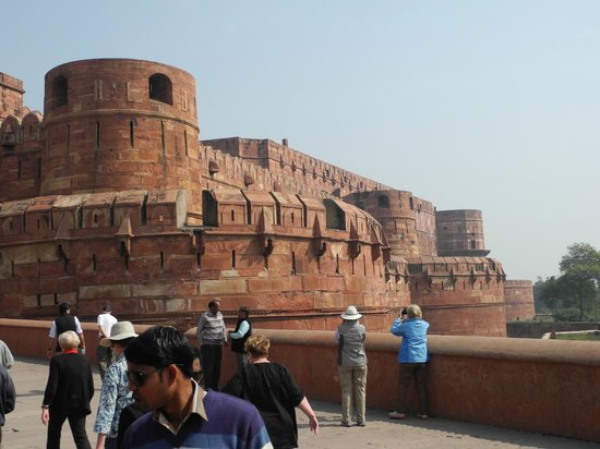 Rotes Fort: entrance to Agra Fort