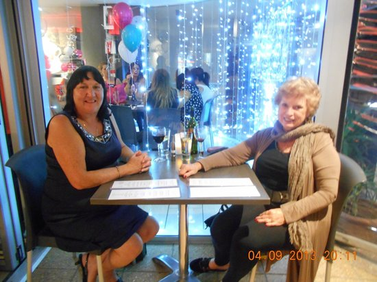 Amici Restaurant Pizzeria : Sharon and Beverley enjoyed dinner at our favourite restaurant