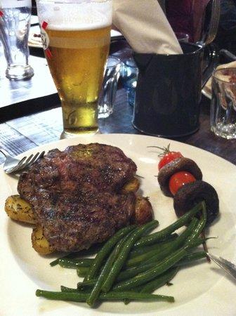 Baravin: steak