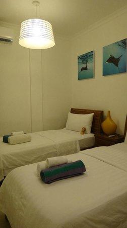 Trawangan Dive Resort: Twin room
